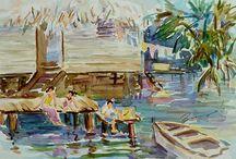 Watercolors / by Xueling Zou