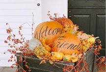 Fall decor / by Shannon @ Fabulously Vintage