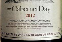 Virtual Wine Tastings / #ChardonnayDay #CabernetDay and #MerlotMe updates. / by Rick Bakas