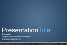 Abstract PowerPoint Templates / Download free Abstract PowerPoint templates for Microsoft PowerPoint presentations or free Abstract slide designs that you can use in any PowerPoint or Keynote presentation. / by Free PowerPoint Templates
