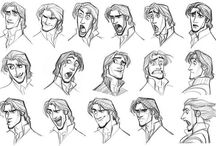 Animation Reference: Expression / by Stephanie Tse