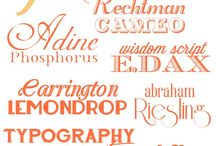 Fonts / by Red Hen Home