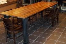 Reclaimed Wood Metal Base / by Reclaimed Wood, Inc.