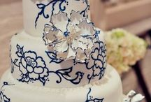 Amber's Wedding Ideas / Everything Navy Blue / by Katherina Merino