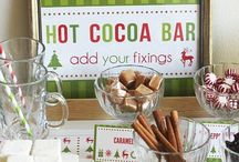 Hot chocolate bar / by Felicia Scurlock