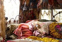 Bedrooms / A collection of different styles from Boho to Modern. / by Scarlett Burroughs
