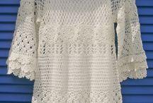 Crochet Blouses Med Sleeves / by Irma Perez