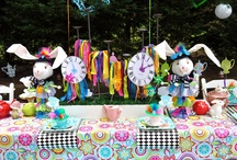 Alice In Wonderland Party / by Tammy Mutter