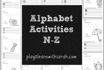 ABC Games / Alphabet games to help kids learn their letters and sounds / by Play 2 Learn with Sarah