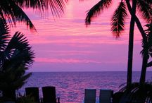Hawaii Sunsets and Hawaiian Rainbows / by HOME SHOPPE HAWAII - Oahu Real Estate Services
