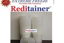 Freezer containers / by Anne Robertson