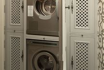 Laundry ~ Wash Day ~ The Small Laundry Room / by The Decorated House ♛ Donna