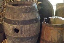 Old Wood Barrels / by Brenda Ison
