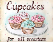 Cupcakes / My love for cupcakes! Every flavor, and pretty decorating! I can't get enough of these perfectly portioned cakes!  / by Jenny VanSlyke