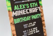 Minecraft Party / by Cathy C - 505 Design, Inc