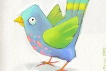 Illustrations - Feathered Friends / by LT