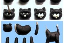 Figures/ toppers tutorials and templates / Gum paste, modeling chocolate figures / by Diana Zamora