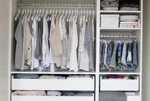 Closet Ideas / by Vera Sweeney (Ladyandtheblog.com)