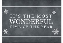Christmas  / Most wonderful time of the year / by Rachel Fozard Hobbs