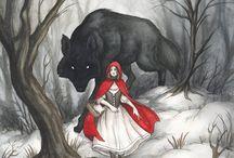 Little Red Riding Hood / Ilustrações sobre o conto infantil. / by Moyses Abbud