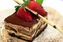 Desserts délectables / Delectable desserts  #sweets #desserts #patisseries #potdecreme #Desserts / by C. Marie Cline