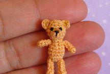 MUFFA Patterns / Crochet Patterns to Make Miniature Amigurumi / by Mariella