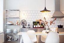 Spaces : Kitchens / by Sarah / Our Little Place
