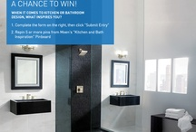 Moen's Moen Pinspiration Sweepstakes / by Polly Klidaras