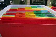 Getting Organized / by Ashley Speet