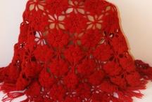 CHALS, PONCHOS, ESTOLAS... en crochet y lana / by MARIBEL DOMENECH