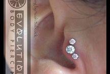 Ear piercings / by Michelle Latta