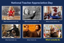 National Teacher Appreciation Day / Thanking teachers everywhere for everything you do! / by Kidobi .com