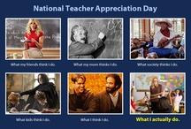 National Teacher Appreciation Day / Thanking teachers everywhere for everything you do! / by Kidobi .com