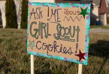 Girl Scout Cookie Sales / by Michele V