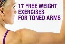 Arm/Back Exercises / by Liz Lerro