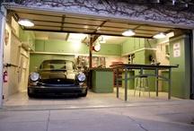 garage storage / by Mishell Forbes