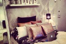 bedroom ideas / by Ashley Ho