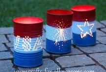 4th of July craft / by Jennifer Turner