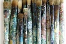 brushstroke / by Lindsay Ostrom