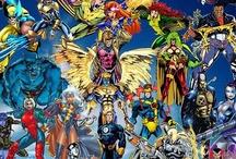 Superheroes  / by Elaine Fleureton