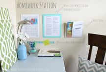 Office/craft room / by Crystal Perret-Reid