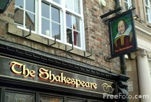 Shakespeare Pubs / What's in a name? Our collection of great places - from England to Azerbaijan - to contemplate the Bard over a pint... / by NoSweatShakespeare