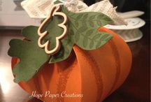 Halloween/Fall Stampin' Up! / Cards and Projects made for Fall and Halloween using Stampin' Up! Products / by Stamps to Die For, Patsy Waggoner