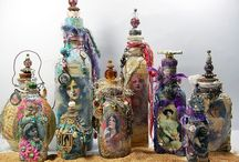 Artisan Crafts~3D Collage / Assemblage, Altered Objects, Dioramas, and Shadowboxes / by Ephphatha