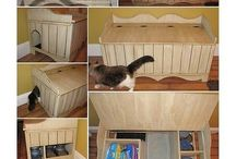 Litter box solutions / by Jen Hernandez Banys