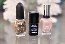 Nail Polish + Nail Lacquers  / Pretty Product Shots and Color Combos / by Maegan Tintari | ...love Maegan
