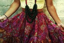 Boho meets Tribal meets Hippie mixed with a little Gypsy.. / ..aka: the ideal dream of my style! :) / by Amy Mercado