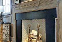 Fireplaces / #fireplace  / by Amanda Carol Interiors