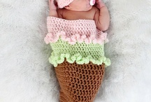 Crochet - Cocoons & Photo Props / by Rozalyn Boggs