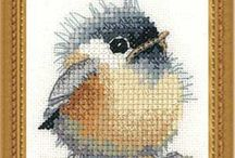 counted cross stitch / by Leslie Banta-Idol